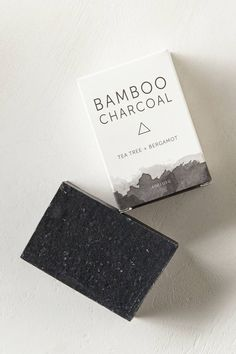 """Name: Herbivore Botanicals Clay Soap Bar — Bamboo Charcoal • Retailer: Anthropologie • Description: """"Key ingredients: purified water, essential oils, Dead Sea clay, powders, activated charcoal, saponified oils."""" — """"Herbivore Botanicals Clay Soap Bar"""", Anthropologie (Retrieved: 30 June, 2014)"""