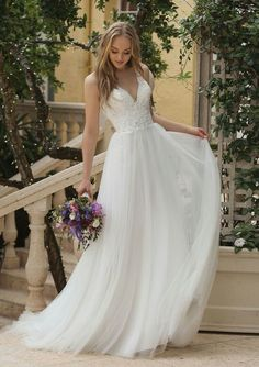 Sincerity Bridal wedding dress with a lace bodice and tulle skirt. Sincerity Bridal wedding dress with a lace bodice and tulle skirt. Sincerity Bridal Wedding Dresses, Dream Wedding Dresses, Bridal Dresses, Wedding Gowns, Wedding Lace, Spring Wedding, Wedding Gown Gallery, Vintage Lace Weddings, Bridal Style
