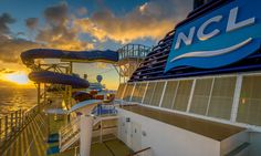 Feel like seeing the sun come up as you make your way down? #FeelFree #CruiseNorwegian