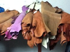 Colours Galore..... Buttersoft lambskin leather!