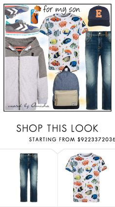 """For my little sons ;-)"" by amisha73 ❤ liked on Polyvore featuring Tumble 'N Dry, ESPRIT, Dsquared2, men's fashion and menswear"