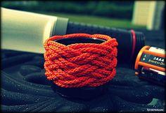 7 lead 6 bight Turk's head knot, doubled