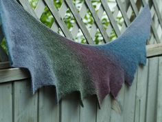 The Yarn Harlot knits it in Kauni - what lovely subtle colours.