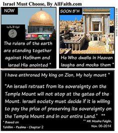 Israelis Must Choose: Sovereignty or Genocide? -- 11.06.14