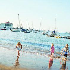 Splashing around: Catalina Island, CA