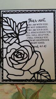 Blessing thru Cards: Stampin Up Rose Wonder Just Because Card