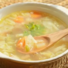 Cabbage soupe