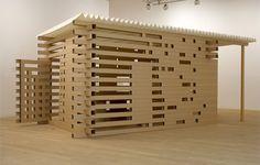 Shigeru Ban - Maison de thé (2008)  #architecture #shigeruban Pinned by www.modlar.com