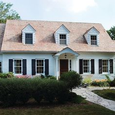 Traditional Cape Cod Gable Design Pictures Remodel Decor And Ideas Page 4