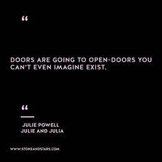 Book of the week 'Julia and Julia by Julia Powell #hustle #book #motivation #inspiration #entrepreneur #girlboss #boss #quote #wisdom #writer