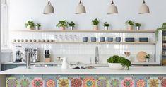 Bohemian Design, Bohemian Style, Kitchen Design, Kitchen Decor, Bohemian Kitchen, Wet Bars, Picture Design, Home Remodeling, Kitchen Cabinets