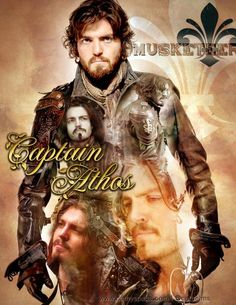 The Musketeers - Captain Athos, graphic by cathelms
