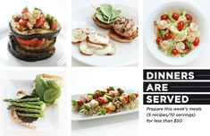 Dinners Are Served: 10 Grilled Meals for Less than $50 | The Everygirl