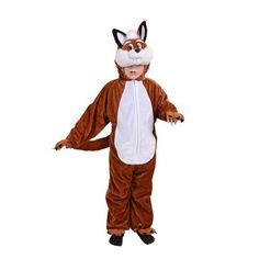 From 10.99 Fantastic Fox - Kids Costume 3 - 4 Years