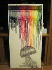 melted crayon art - Bing Images