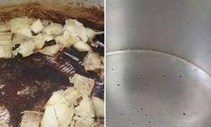 A panela queimou e ficou aquela crosta negra difícil de tirar? Não se preocupe! Faça a Receita Caseira para Limpar Panelas Queimadas e livre-se da sujeira
