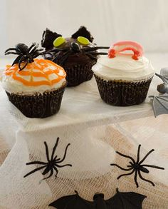Halloween Cupcakes (and Gluten Free) · Edible Crafts | CraftGossip.com