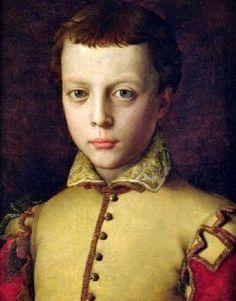 BRONZINO Agnolo di Cosimo - Italian mannerism (Florence 1503 - 1572) - Ferdinando I de' Medici for shoulder wings