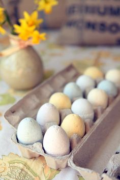 Easter egg craft idea: tub fizzers or bath bombs!