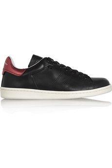 Isabel Marant Étoile Bart leather sneakers | NET-A-PORTER