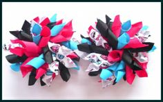 hair bow basket   GIRLS BOUTIQUE MONSTER HIGH SKULLETTE KORKER HAIR BOWS