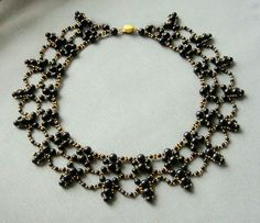 Free pattern for beaded necklace Hanna | Beads Magic