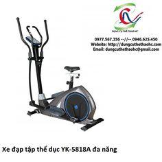 xe đạp tập thể dục yk-5818A