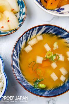 Miso soep met pompoen en daikon   Proef Japan Food Japan, Spreads, Cantaloupe, Fruit, Salads, Sandwich Spread