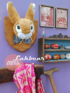 Lakbear has shared 1 photo with you! Diy Recycle, Recycling, Taxidermy, Happy Easter, Rabbit, Fiber, Join, Felt, Facebook