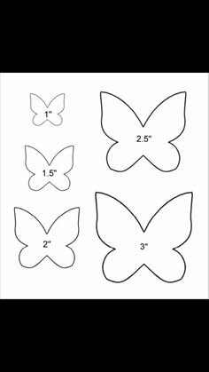Butterfly template example birthday ideas butterfly template example more simple butterfly outline tattoos . Butterfly Felt, Butterfly Outline, Butterfly Stencil, Simple Butterfly, Butterfly Baby Shower, Butterfly Template, Paper Butterflies, Butterfly Crafts, Felt Butterfly Pattern