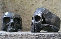 Skull Rings | Lor G Jewellery | Rockstar | Biker Rings | Silver
