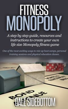 Fitness Monopoly-Each fitness game lasts for 30 to 45 minutes. The creator also included a number of bodyweight exercise workouts which can be used anywhere when you do not have equipment. Six very neat ideas can be found on this website. Check it out! Elementary Physical Education, Elementary Pe, Health And Physical Education, Health Class, Pe Activities, Fitness Activities, Physical Activities, Fitness Games, Kids Fitness