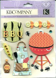 K & Company   BBQ     11 pieces     by CynthiasCraftingNook