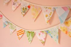 You know me – I like quick and easy. Okay, some might say I'm lazy. So I thought I'd share my super-simple and very quick method for putting together a cute pennant for anyone else out there like me. I like to use two fabric triangles per pennant, just to give some more body to …