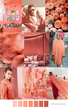 FASHION VIGNETTE: TREND | PATTERN CURATOR - LIVING CORAL . 2019