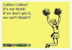 """Coffee is always there to """"cheer"""" you up! #MrCoffee #coffee"""