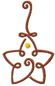 Christmas star decoration free embroidery design - Christmas free embroidery - Machine embroidery forum