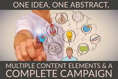 Marketing Content Abstracts: A Complete Campaign Build your next public relations and inbound marketing campaign around a single idea or data point by starting from a simple abstract. Up And Running, Inbound Marketing, Public Relations, Campaign, Content, Abstract, Simple, Articles, Posts