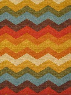 "Panama Wave Adobe.  Waverly Fabric Hacienda Haven 100% cotton multi purpose decorator fabric. 9"" repeat. 54"" wide."
