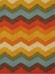 "Panama Wave Adobe.  Waverly Fabric Hacienda Haven 100% cotton multi purpose decorator fabric. 9"" repeat. 54"" wide."