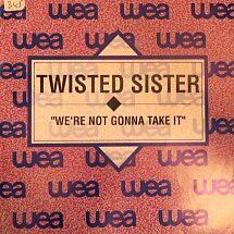 Twisted Sister-We're not gonna take it (Spain,PROMO)