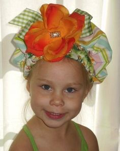 love this Easter bonnet!