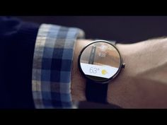 This is Google's new interface for Android Wear--a platform the company announced unceremoniously on YouTube today--that connects an Android phone to a watch to bring Google to your wrist.