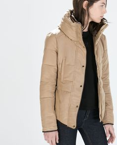 ZARA - WOMAN - FITTED SHORT ANORAK