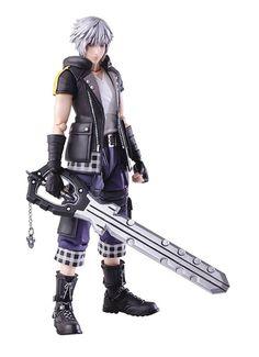 Square Enix Kingdom Hearts III Bring Arts Riku Action Figure for sale online Riku Kingdom Hearts 3, Anime Figures, Action Figures, Batman The Dark Knight, Action Poses, God Of War, Disney And Dreamworks, Teenage Mutant, Female Bodies