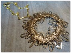 Collier Sun par NakedWords sur Etsy