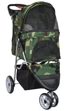 PET STROLLER TRIO CAMO Pet Stroller, Dog Fashion, Fashion Boutique, Camo, Pets, Camouflage, Animals And Pets