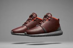 Nike Roshe Run Sneakerboot. Ready for the winter. So clean.
