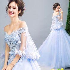 "82 Suka, 1 Komentar - The Pure B Shop (@thepurebshop) di Instagram: ""🎀 Clothes Pre-Order: 15-20 working days 🎀 Category: Party dress 🎀 Code: PBPA0517116 🎀 Color: Blue 🎀…"""