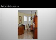 Dinette in Kitchen Area